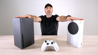 Xbox Series X and Xbox Series S Model Unboxing