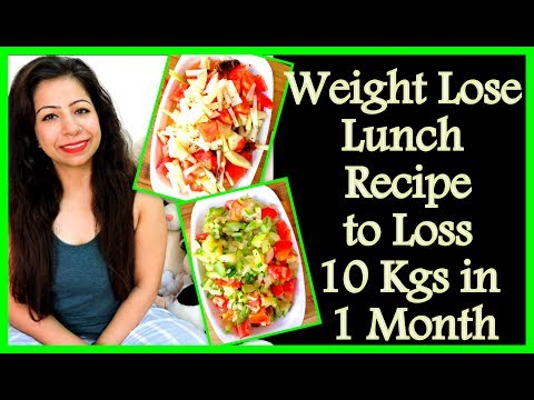 Easy and Healthy Weight Lose Lunch Recipe to Loss 10 Kgs in 1 Month