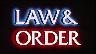 Law and order but it's bass bosted