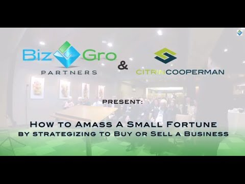 BizGro Partners presents: NYC2014 #WorkshopSeries | How to Amass a Small Fortune by Strategizing...