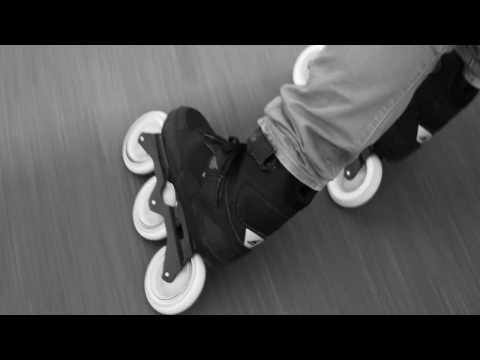 Video ROLLERBLADE Roller freeskate METROBLADE 110 3WD - 17 Noir jaune