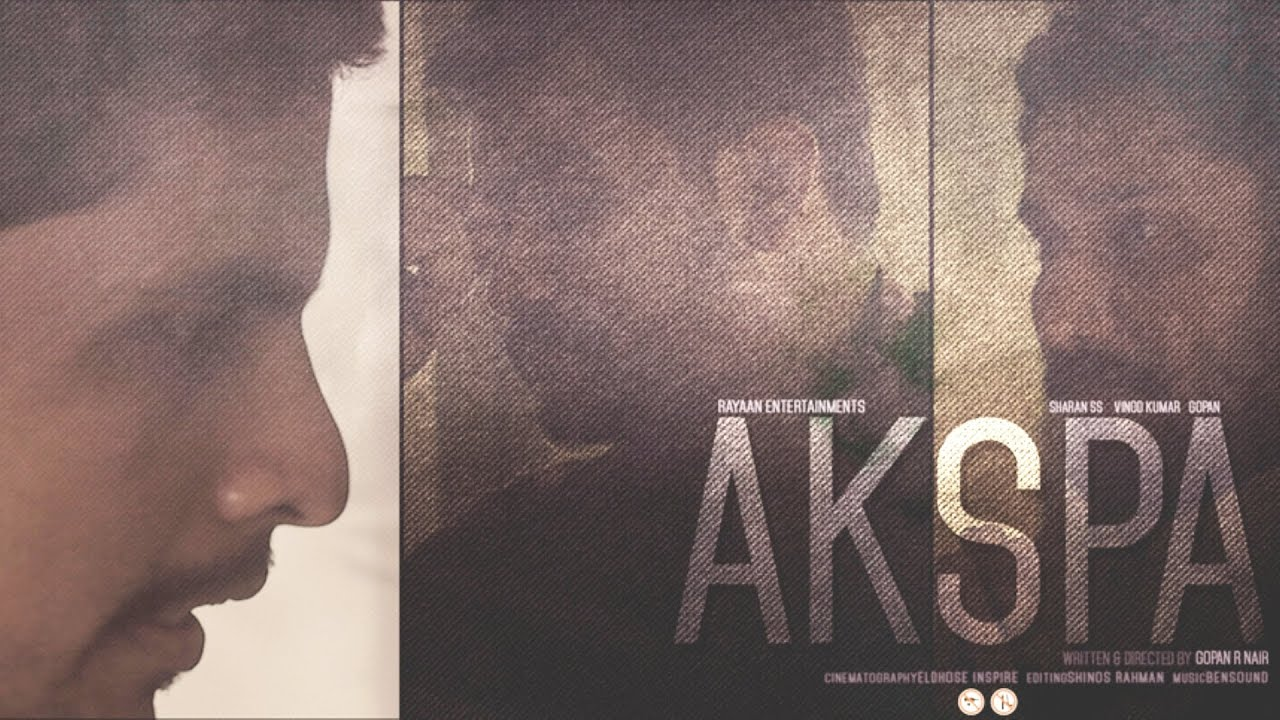 AKSPA | Social Satire on Moral Policing & Kiss of Love | Comedy Malayalam Short Film Latest 2015