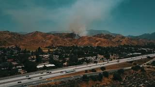 Sylmar - Lopez Canyon Fire. May 28, 2017