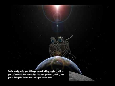 Flying Spaghetti Monster Commandments and Prayer - YouTube
