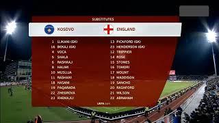 Anh vs Kosovo 4-0 (18/11/2019)