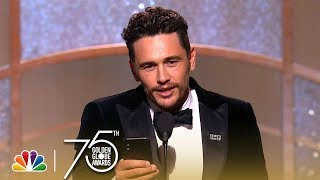 James Franco Wins Best Actor, Musical or Comedy at the 2018 Golden Globes