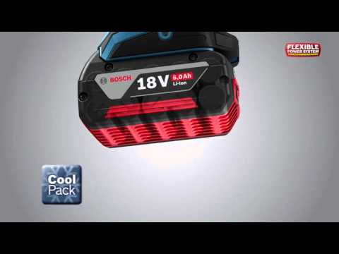 Bosch 1600A002U5 GBA18 18v 5.0ah Li-on Battery Coolpack