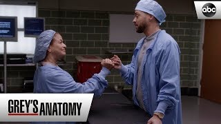 Catherine and Jackson - Grey's Anatomy Season 15 Episode 11