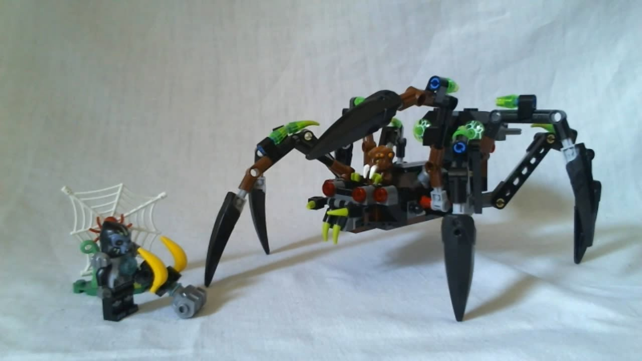 LEGO Legends of Chima Video Review : Sparratus' Spider ...