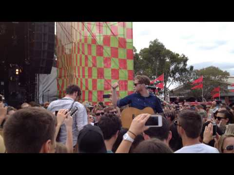 Baixar The Lumineers - Darlene, Ho Hey (live at Big Day Out 2014)