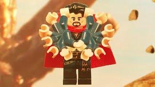 Lego Avengers Infinity War Thanos VS Doctor Strange Titan Battle fight scene Lego Stop Motion