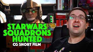 "REACTION! Star Wars: Squadrons ""Hunted"" Short Film - CG Short Film 2020"