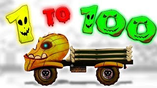 Scary Truck | Learn Numbers | 1 to 100 | Counting Numbers