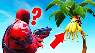 They Were HIDING As BANANAS! (Fortnite Hide And Seek)