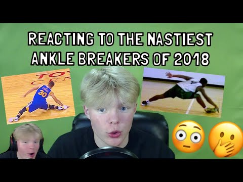 REACTING TO THE NASTIEST ANKLE BREAKERS OF 2018!