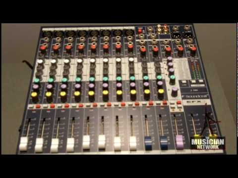 WINTER NAMM 2010 - SOUNDCRAFT - Booth Walk-Through