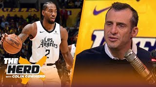 Kawhi, not LeBron, was clearly the best player on the floor on Christmas — Gottlieb | NBA | THE HERD