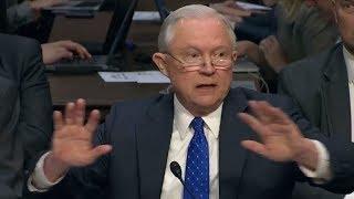 WOW! HEATED: Senator Al Franken VS Jeff Sessions ARGUE, Senate Judiciary Committee Oversight Hearing