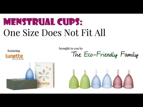 Lunette Cup Sizing Menstrual Cups One Size Does