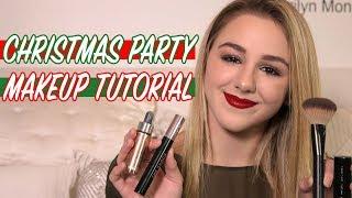 GRWM Christmas Party Makeup Tutorial | Chloe Lukasiak