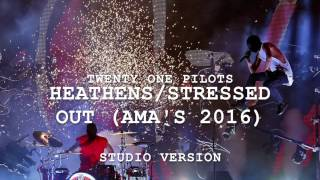 (Studio Version) Heathens/Stressed Out | twenty one pilots at the AMAs 2016