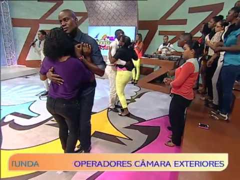 Baixar Kueno Aionda na estreia do novo Zimbando | Zimbando | TV Zimbo |
