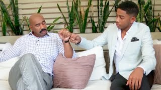 Steve's message to Wynton: I expect great things || STEVE HARVEY