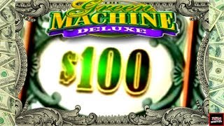 HIGH LIMIT LIVE PLAY and Bonuses on Green Machine Deluxe Simple Slot Yet Fun AF!