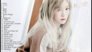 The best songs of Kim TaeYeon - SNSD