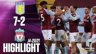 Highlights & Goals | Aston Villa vs. Liverpool 7-2 | Telemundo Deportes