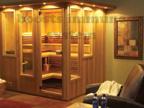 Relieves Your Stress by Sauna Bath