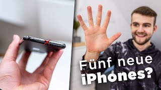 Fünf neue iPhones in 2020 & ganz ohne Anschlüsse? - Apple News