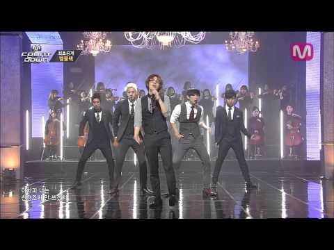 엠블랙_남자답게 (Be A Man by MBLAQ of M COUNTDOWN 2014.3.27)