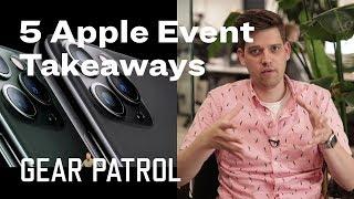 Apple September Event 2019: 5 Important Highlights