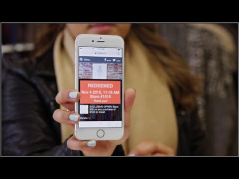 Video: Mobile coupons, made easy