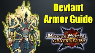 Monster Hunter Generations Deviant Armor Guide