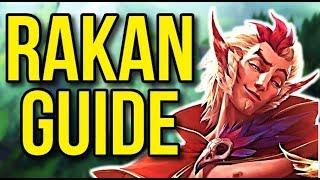 Rakan Challenger Champion Guide | Season 8 Support Guide - League of Legends