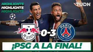 Highlights | Leipzig 0-3 PSG | Champions League 2020 - Semifinal | TUDN