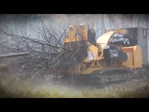The Bandit® 2590 Track Whole Tree Chipper