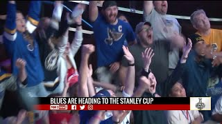 Blues fans react to Western Conference Finals win