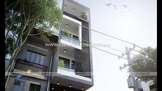 Những mẫu mặt tiền nhà phố đẹp hiện đại