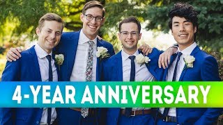 The Try Guys 4-Year Anniversary Challenge