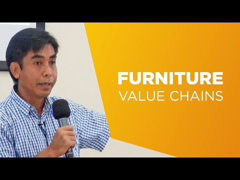 Science@10 - Herry Purnomo on furniture value chains