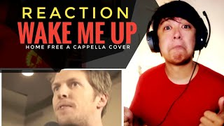 REACTION | Avicii - Wake Me Up - (Home Free a cappella cover)