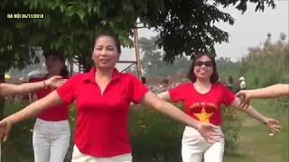 Chào em cô gái Lam hồng - Bài thể dục Dưỡng sinh thu hút hàng triệu trái tim.