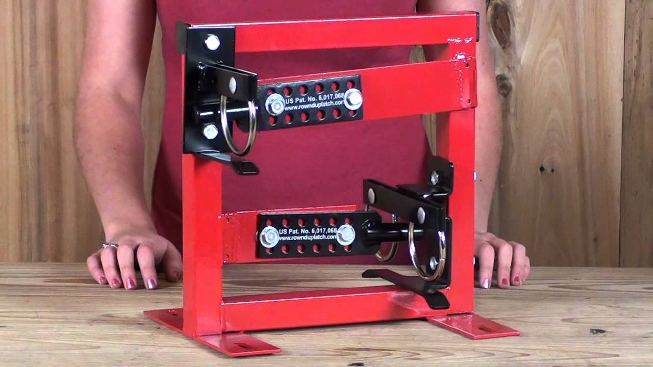 Rownd Up Gate Latches Youtube