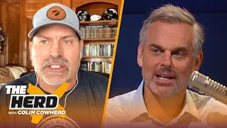 Brady's Bucs are SB ready, Cowboys mistakes, Russ Wilson pressure — Mark Schlereth | NFL | THE HERD