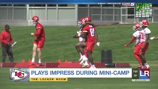 Plays impress during Chiefs mini-camp