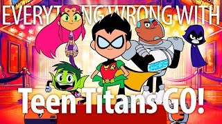 Everything Wrong With Teen Titans Go! To The Movies