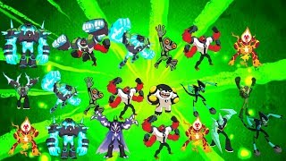 Ben 10 reboot transformation - Music Videos